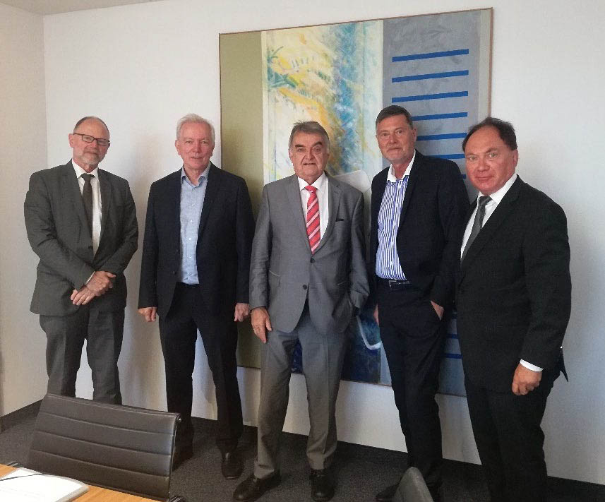 BSKI IARES BEsuch bei NRW Innenminister Reul